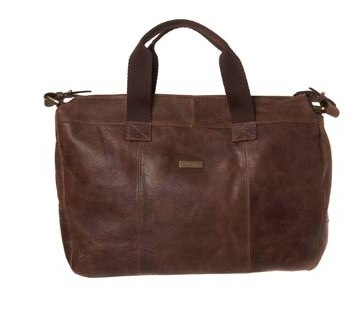 Brown Leather Tote billy bag