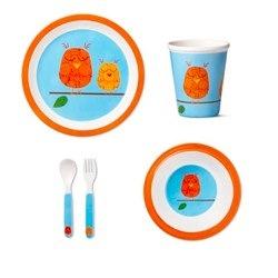 owl melamine dining set