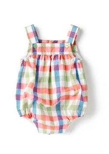 check romper by zara baby mini collection in multi colour check