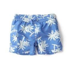 Palm trees bermuda swimshorts by Zara Kids