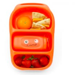 Bynto Goodbyn lunchbox: orange