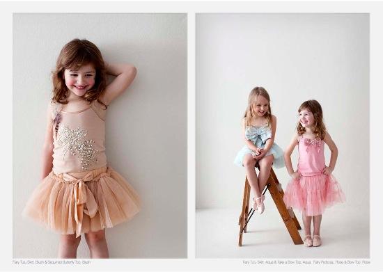 tutu du monde fairy tutu skirt blush and sequinned butterfly top