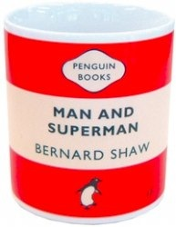 George Bernard Shaw Man and Superman Mug