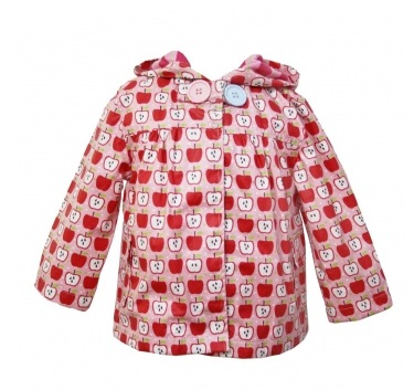 Oobi Baby Raincoat - Apples at DueSouth