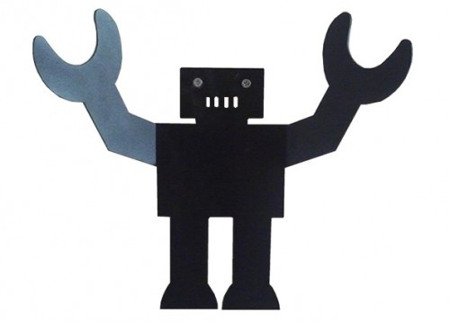 Our children's Gorilla robot hook