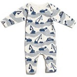 Construction Romper by Winter Water Factory