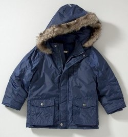 John Lewis Boy Destination Parka Jacket, Navy
