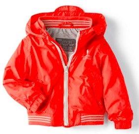 Zara raincoat with striped hem.jpg