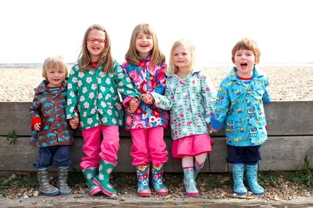 Toby Tiger Raincoats and wellies