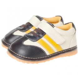 Cream / Yellow / Brown Squeaky Shoes