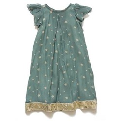 ilovegorgeous Party Gold Star Dress - Teal
