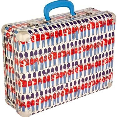 Guards suitcase by Cath Kidston