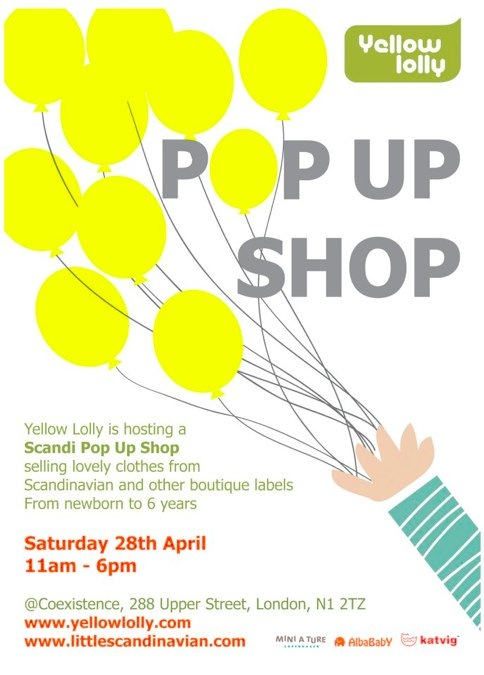 Scandi Pop Up Shop By Yellow Lolly