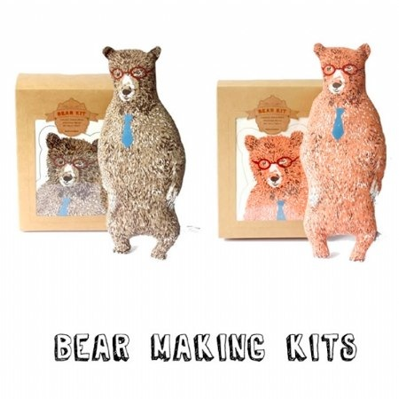Bear Making Kits by Sian Zeng