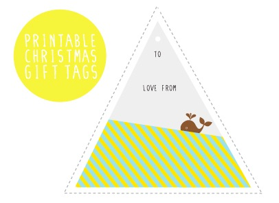free printable gift tags from Lulabird