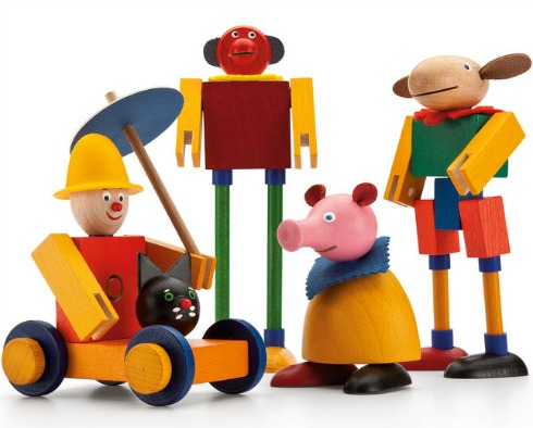 Schnuckenacks Snap-together Figures Kit