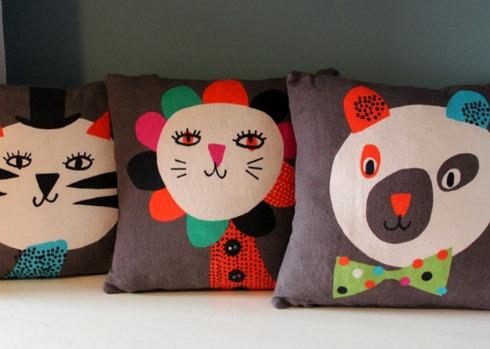 Becky Baur Linen Cushions