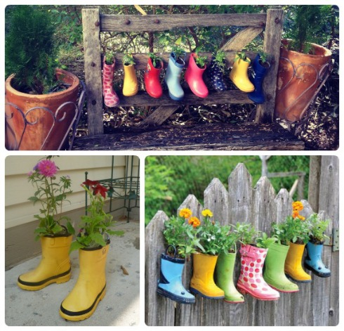 Recycling Gumboots