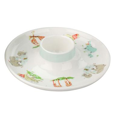 Hot on the high street: Cath Kidston Baby Zoo egg plate