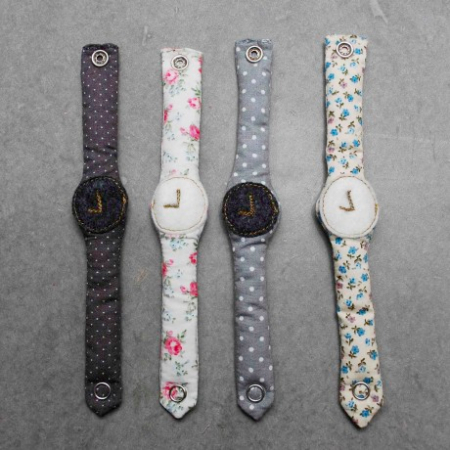 Party Bag Fillers: Fabric watches at Bobo Kids