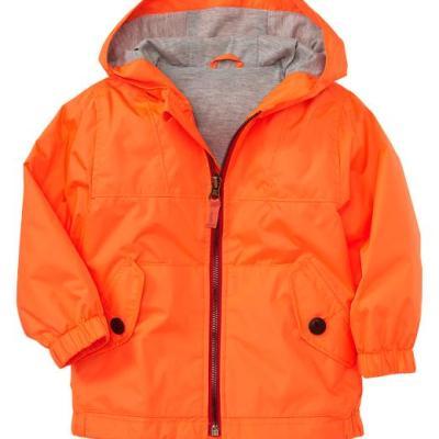 Hot on the high street: Gap neon orange jacket