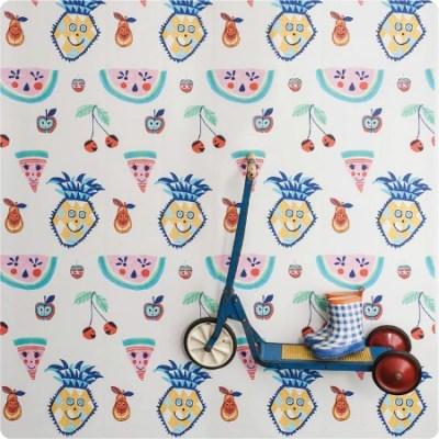 Jane Reiseger Tutti Frutti wallcovering