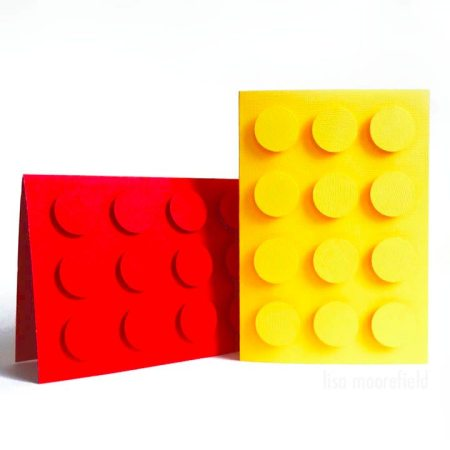 make your own Lego cards