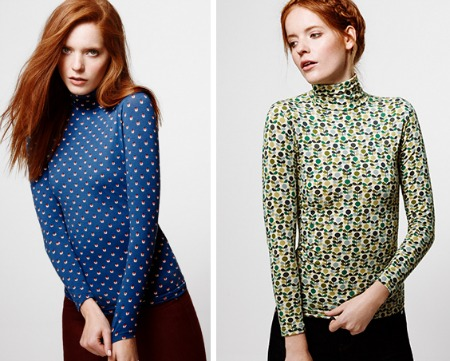 Orla Kiely tops for Uniqlo featured on Bambino Goodies