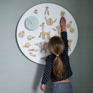 Covetable: Rowan & Wren magnetic play clock