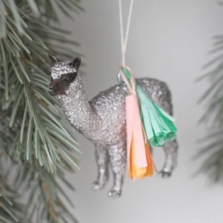 Glitter Animals with Tassles