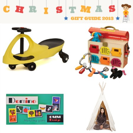 Christmas Gift Guide for 2-3 year olds from Bambino Goodies