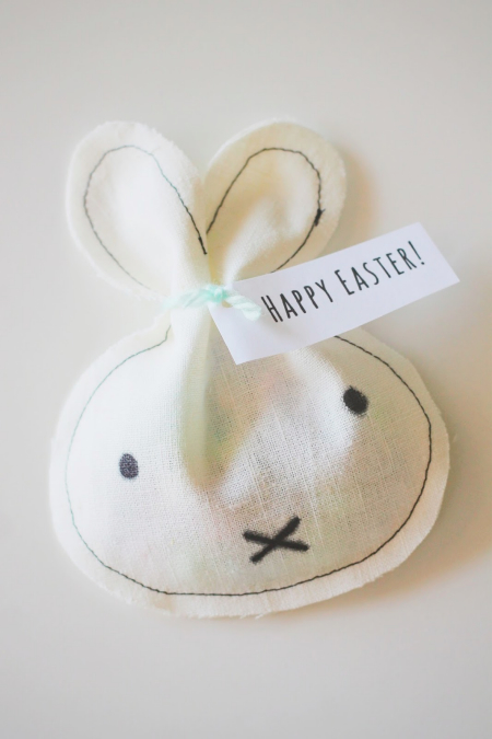 DIY Miffy Inspired Treat Bags by Everything Milly