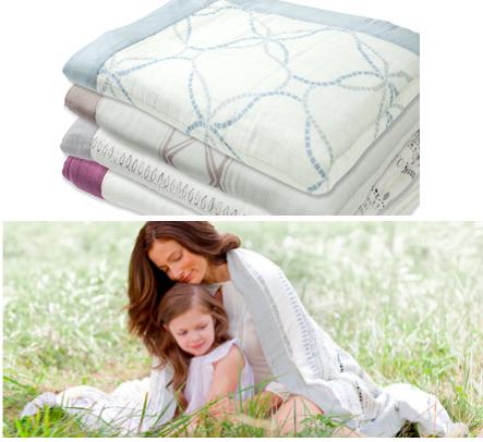 Aden + Anais Daydream Blankets TM
