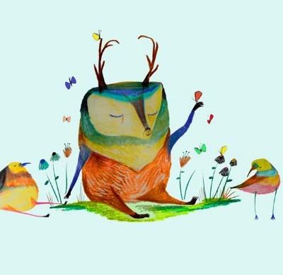 Ashley Percival illustrations