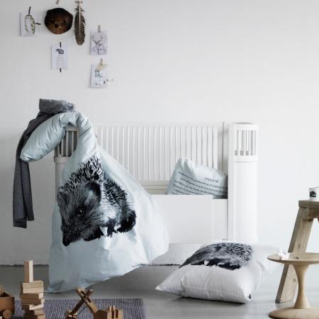 Hedgehog Print Bedding