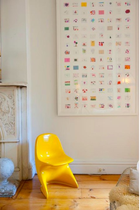 Jan Eleni, artist and designer, scan's children's artwork