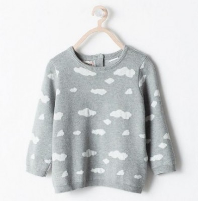 eb6c86aed06f Hot on the high street  Zara Kids cloud sweater