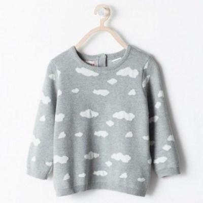 Hot on the high street: Zara Kids cloud sweater