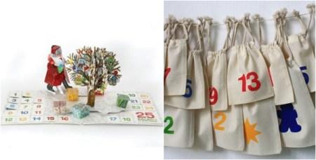 Modern Advent Calendars for Cool Kids