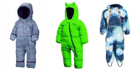 Cool snowsuits for cool kids