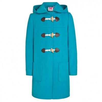Hot on the high street: John Lewis bright duffle coats