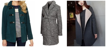 Modern winter coats