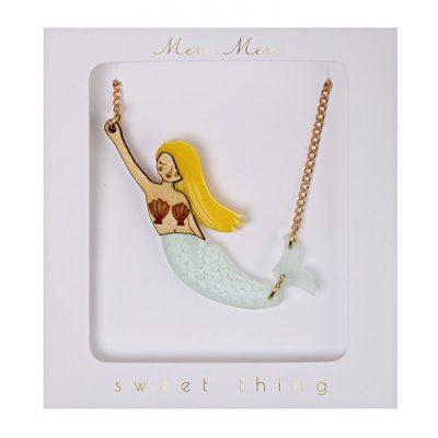 Meri Meri mermaid necklace