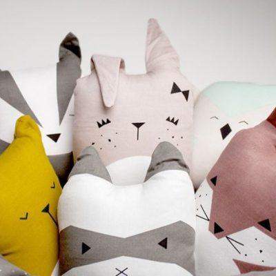 Fabelab Animal Friends cushions