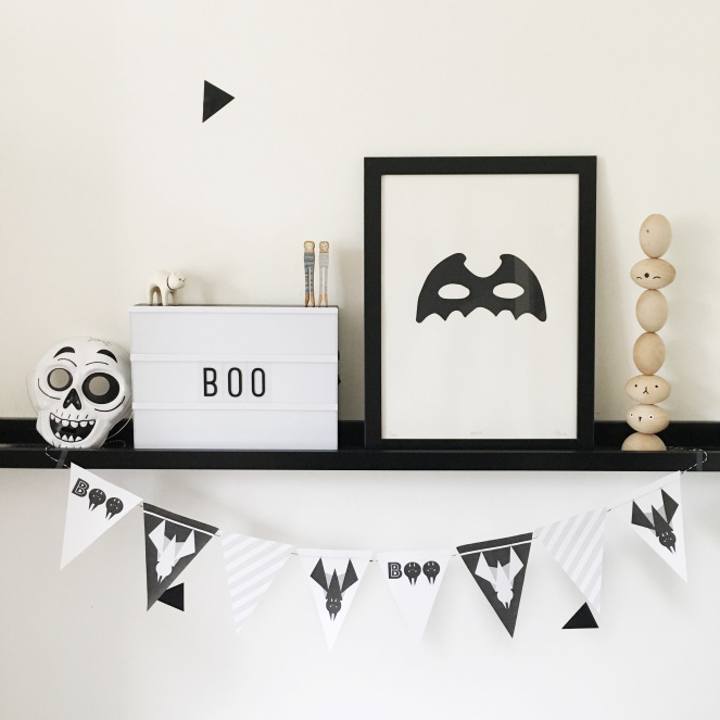 Luxury Free Halloween Printable from Archie us Boutique