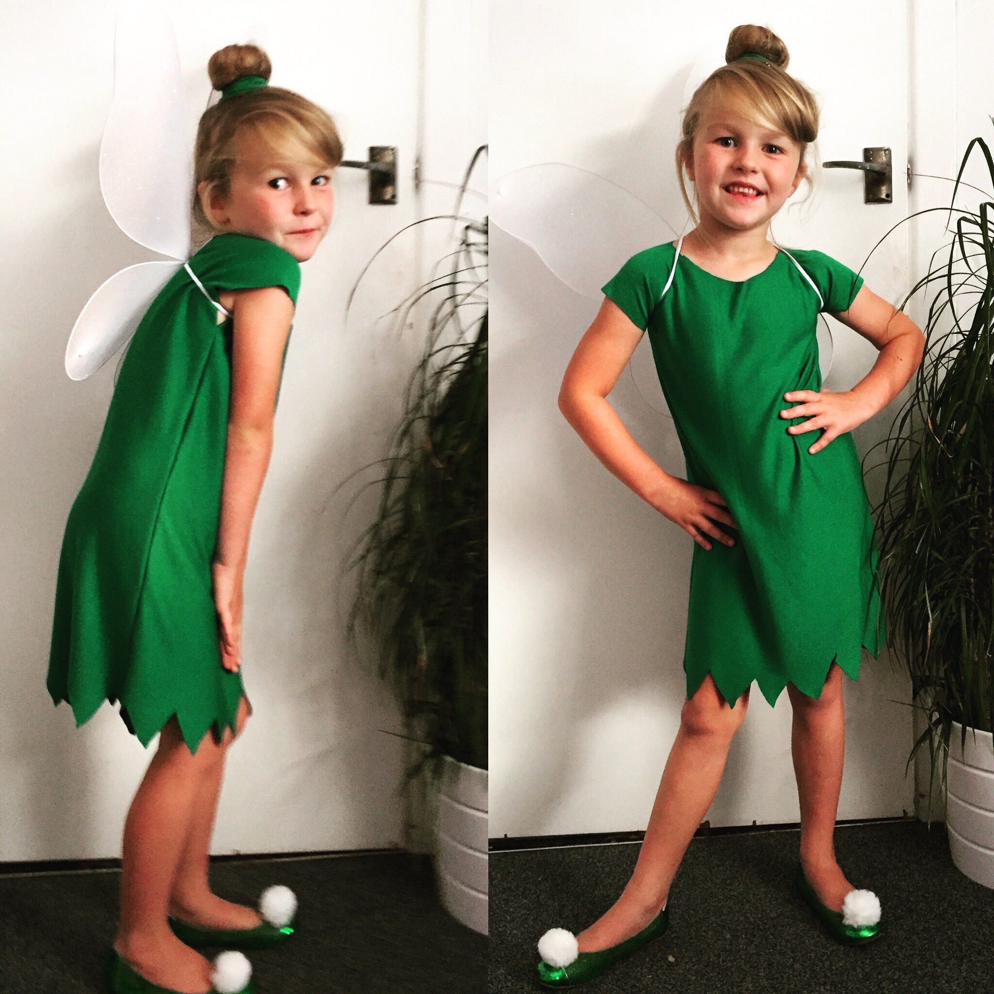 make your own  easy  u0026 cheap tinkerbell costume