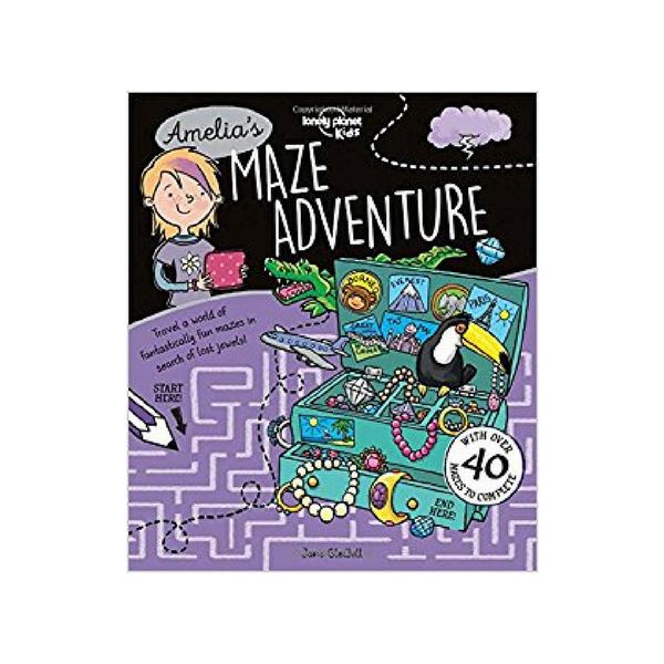 Lonely Planet maze