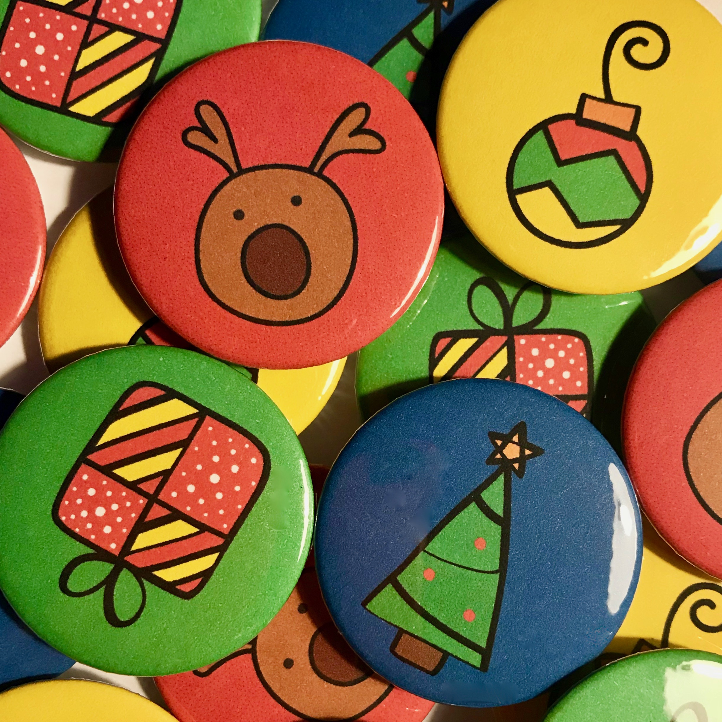 Christmas Badges 2017