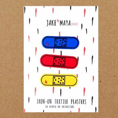 Jake & Maya clothes plasters
