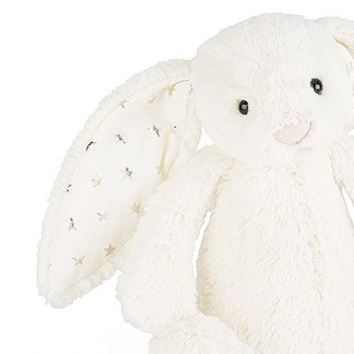 twinkle ear cream huge bunny jellycat